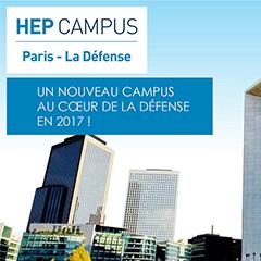 Le HEP campus la défense où s'installe l'ILERI