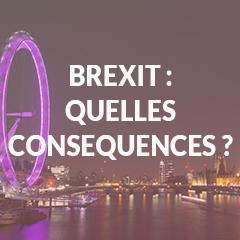 Présentation de la conférence sur les conséquences du Brexit avec les CCEF