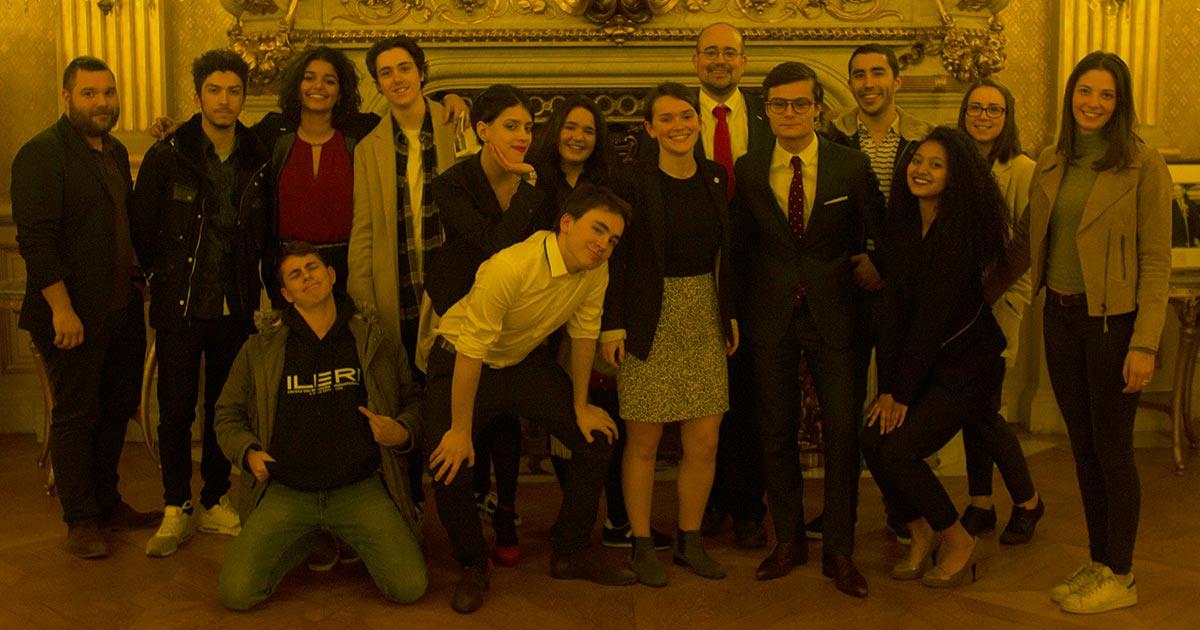 Les étudiants de l'équipe FDA de l'ILERI