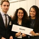Les étudiants de l'ILERI représentent l'Egypte