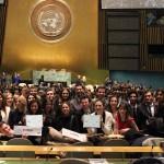 Les étudiants d'ILERI MUN à l'ONU