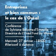 Entreprises et bien commun : le cas de L'Oréal | Conférence